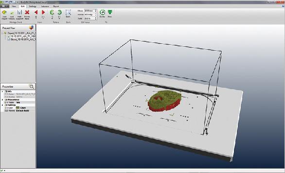 Pregatirea tesuturilor pentru printare cu ajutorul software-ului BioCAM